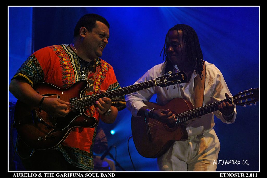 ETNOSUR 2011 (698) AURELIO & THE GARIFUNA SOUL BAND