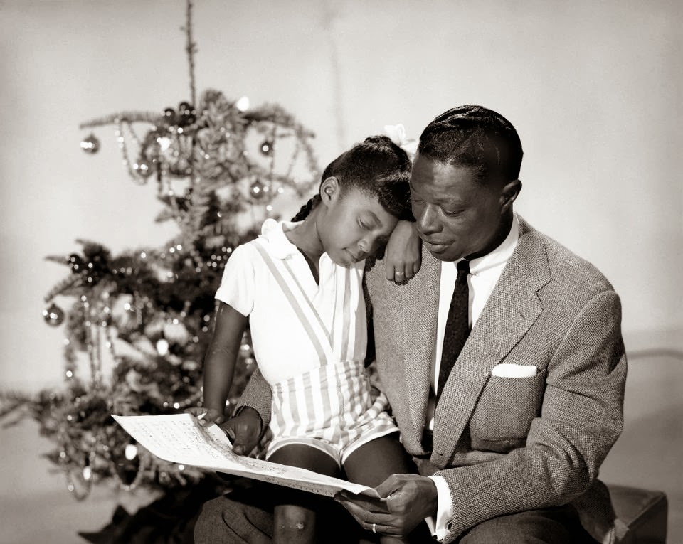 Natalie & Nat King Cole 1958..by M.McLinner natal