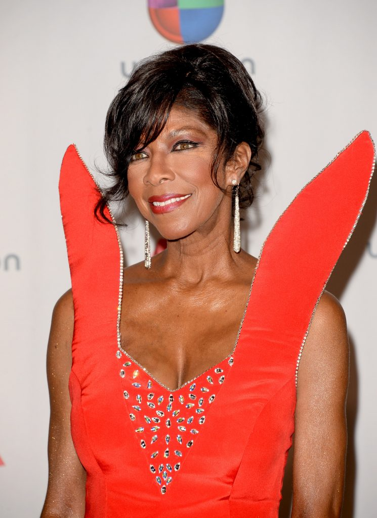 LAS VEGAS, NV - NOVEMBER 21: Singer-songwriter Natalie Cole poses in the press room at the 14th Annual Latin GRAMMY Awards held at the Mandalay Bay Events Center on November 21, 2013 in Las Vegas, Nevada. (Photo by Jason Merritt/Getty Images)
