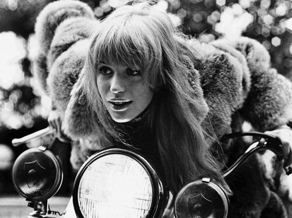 GIRL ON A MOTORCYCLE, (aka NAKED UNDER LEATHER), Marianne Faithfull, 1968