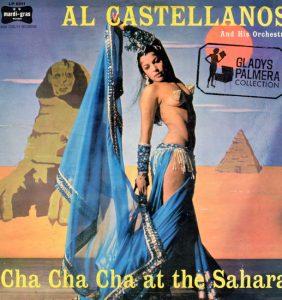 Al Castellanos & Orchestra-Cha cha cha at the Sahara-Mardi Gras-LP5011-1