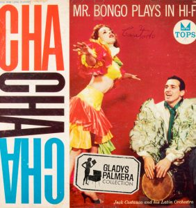 Jack Costanzo and his Latin orchestra-Mr,Bongo plays hi fi cha cha-Tops-L1564-0267