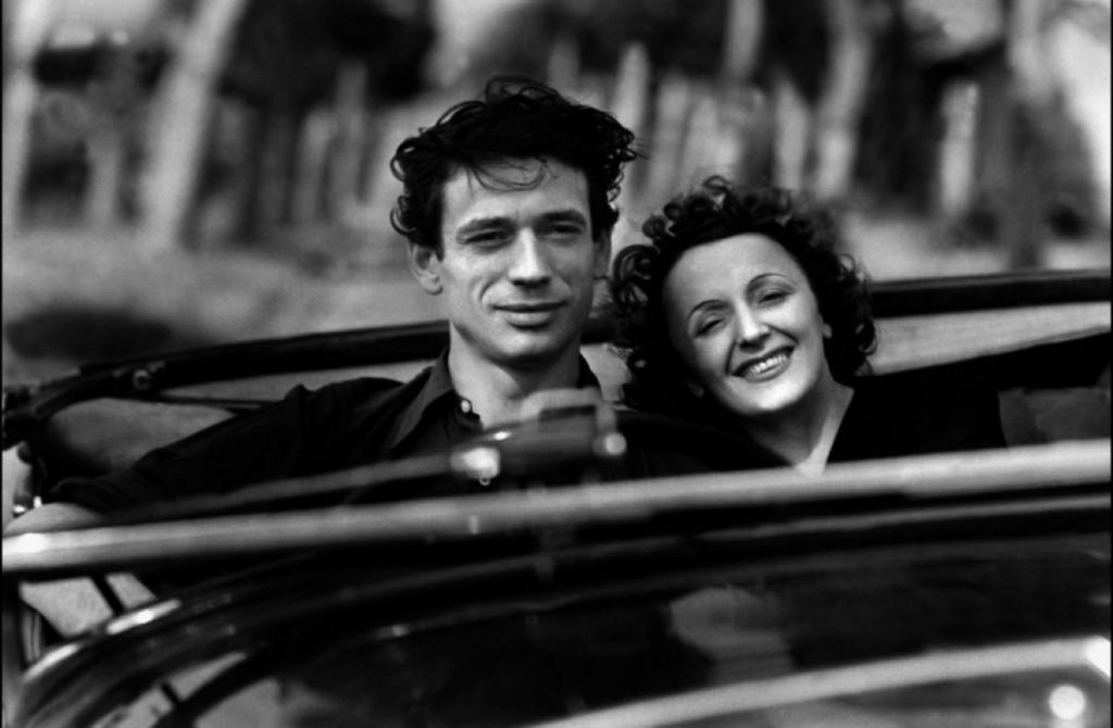 Montand y Edith.