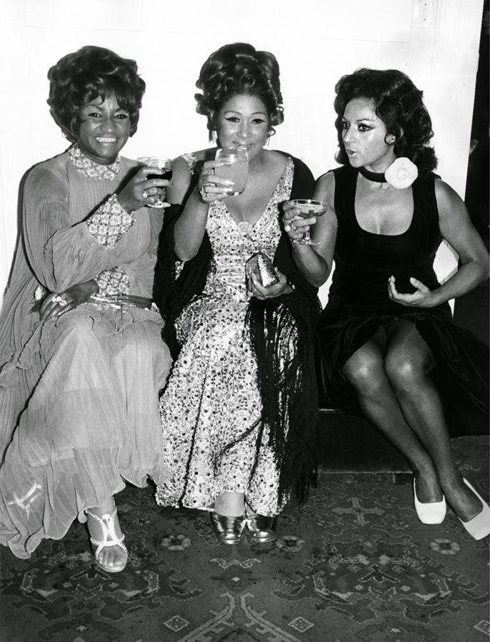 Celia Cruz, Olga Guillot y Lola Flores