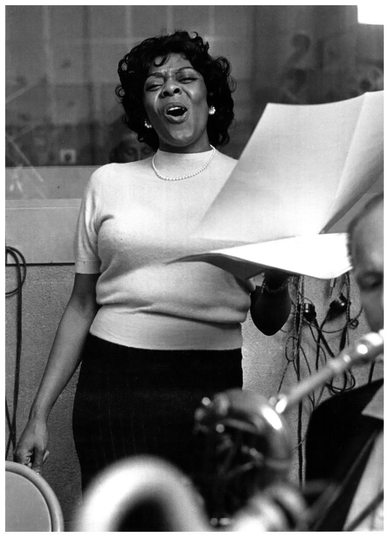 Dinah Washington: Loca por los chicos - Radio Gladys Palmera