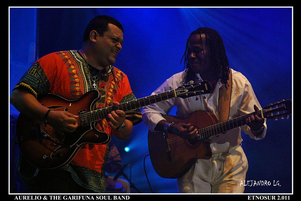 ETNOSUR 2011 (698) AURELIO & THE GARIFUNA SOUL BAND