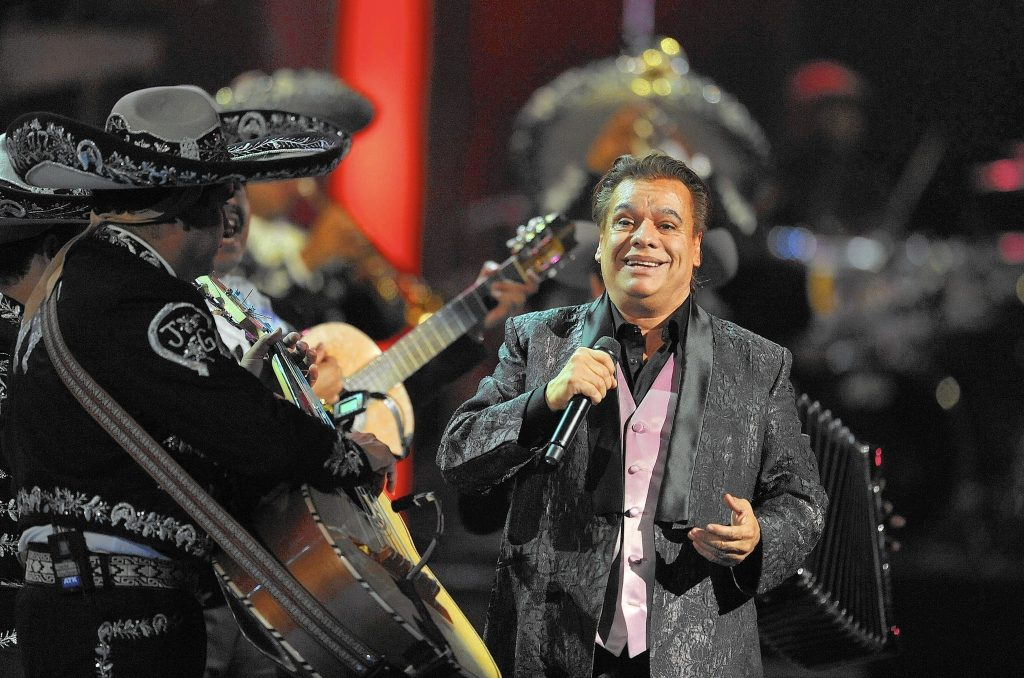 Legendary Mexican singer Juan Gabriel will perform Feb. 15 at Amway Center in Orlando.
