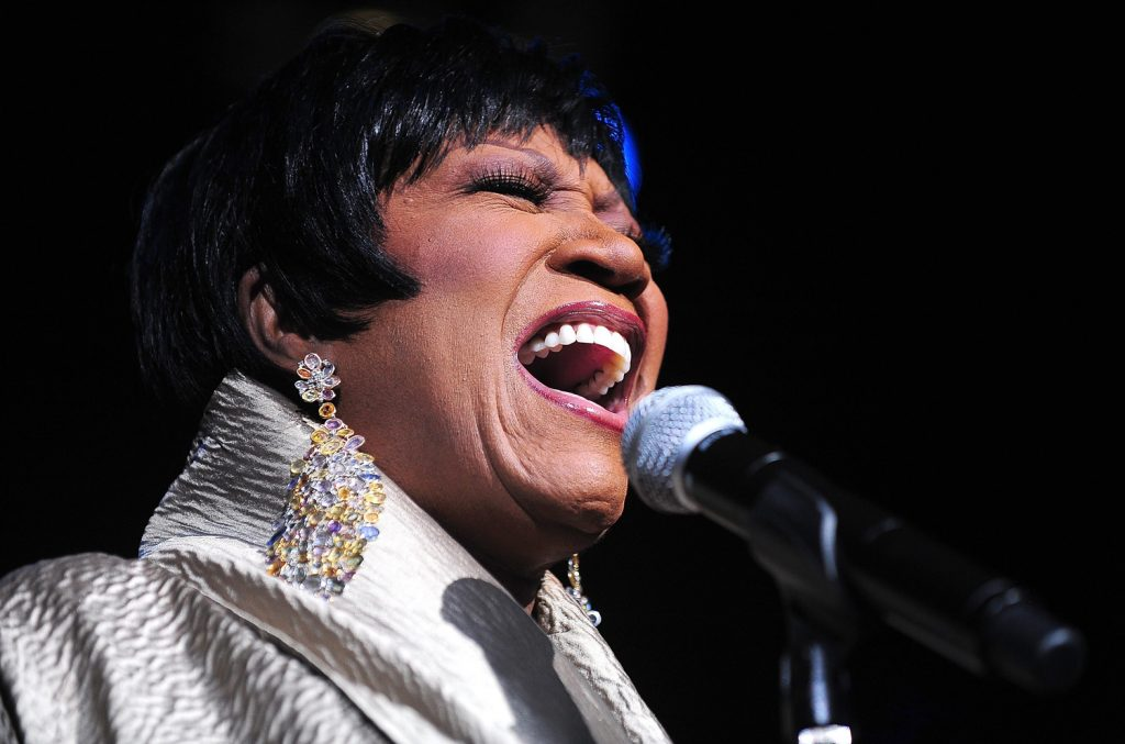 HOLLYWOOD, FL - OCTOBER 08: Singer Patti LaBelle performs at Hard Rock Live! in the Seminole Hard Rock Hotel & Casino on October 8, 2009 in Hollywood, Florida. (Photo by Gustavo Caballero/Getty Images)