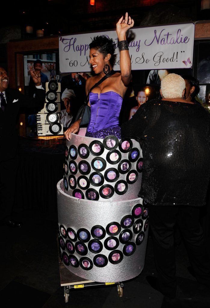 NEW YORK - FEBRUARY 04: (EXCLUSIVE ACCESS, Premium Rates Apply) Singer Natalie Cole attends her 60th Birthday Celebration at TAO on February 4, 2010 in New York City. (Photo by Larry Busacca/Getty Images)