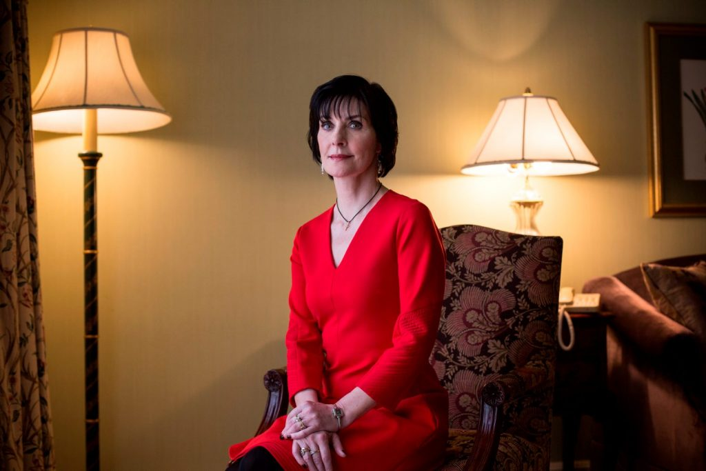 Enya photographed in the Intercontinental, Ballsbridge, Dublin. Pic:Mark Condren 11.10.2015