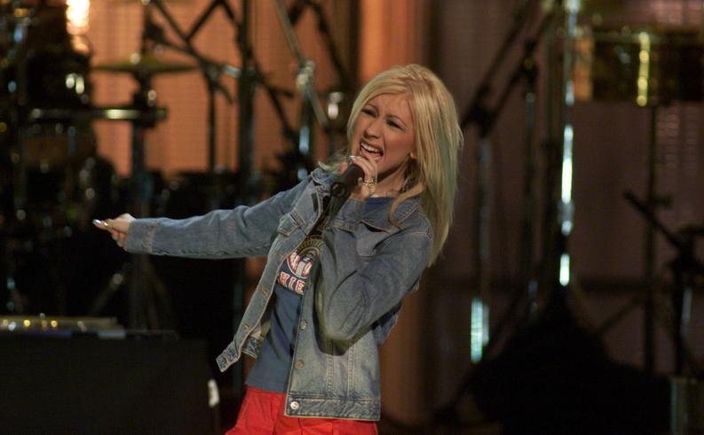 La evolución del cuerpo de Christina Aguilera