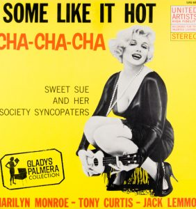 Marilyn Monroe, Tony Curtis, Jack Lemon-Some like it hot cha cha cha-United artists-UAS6029-0102