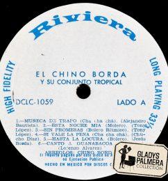 El Chino Borda y su conjunto tropiocal-Discos Rivera-DCL1059-A