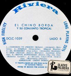 El Chino Borda y su conjunto tropiocal-Discos Rivera-DCL1059-B