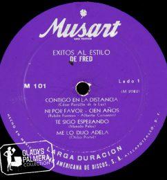 Exitos al estilo de Fred-Musart-M101-A