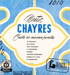 Nestor Chayres-Canta sus canciones favoritas orquesta de Gonzalo Cervera-Peerless-LPP053