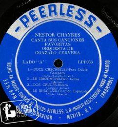Nestor Chayres-Canta sus canciones favoritas orquesta de Gonzalo Cervera-Peerless-LPP053-A