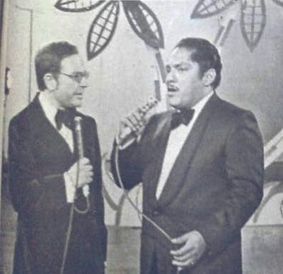 Raul Velasco y Julio Jaramillo