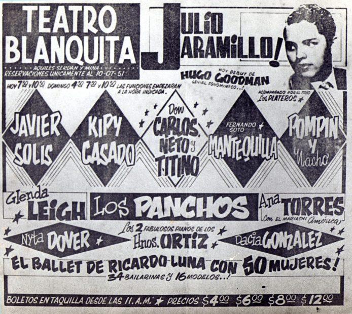 Teatro Blanquita 1961