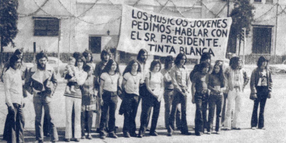 Protesta de músicos mexicanos