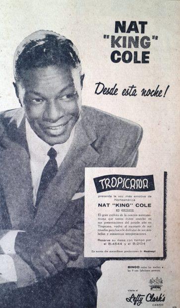 Nat King Cole publicidad