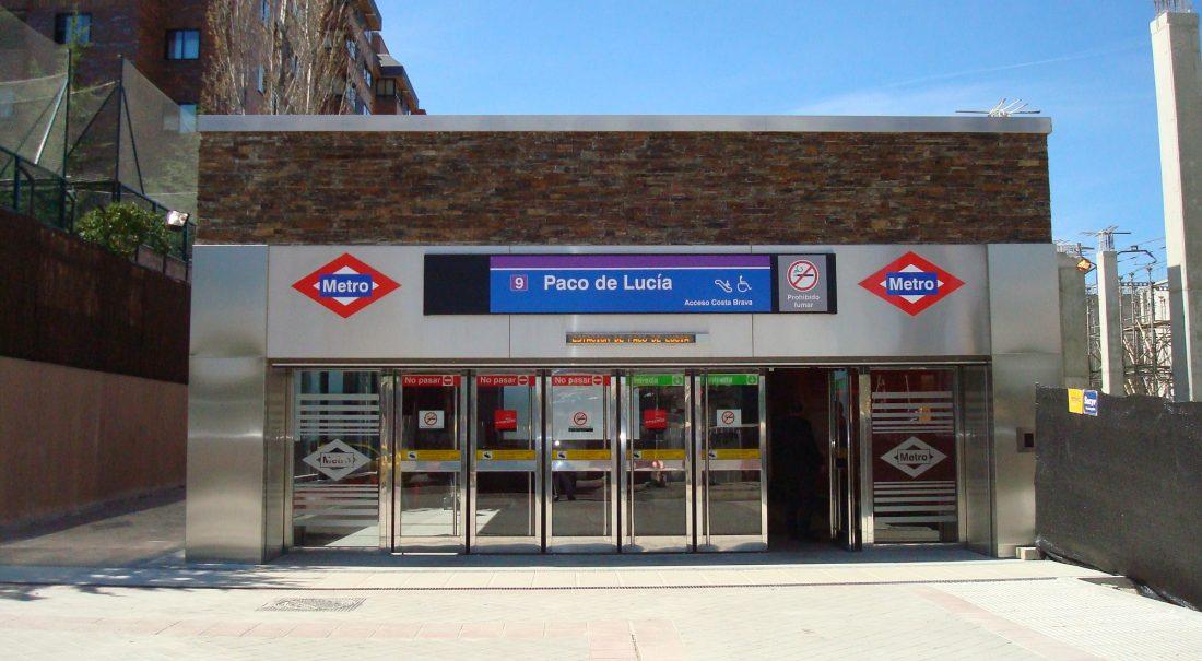 Estación Paco de Lucía