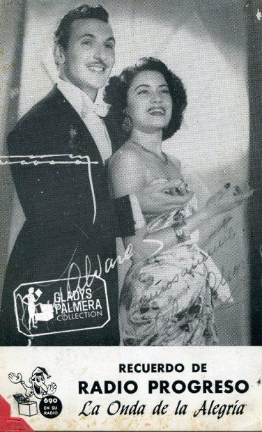 Olga Chorens y Tony Alvarez