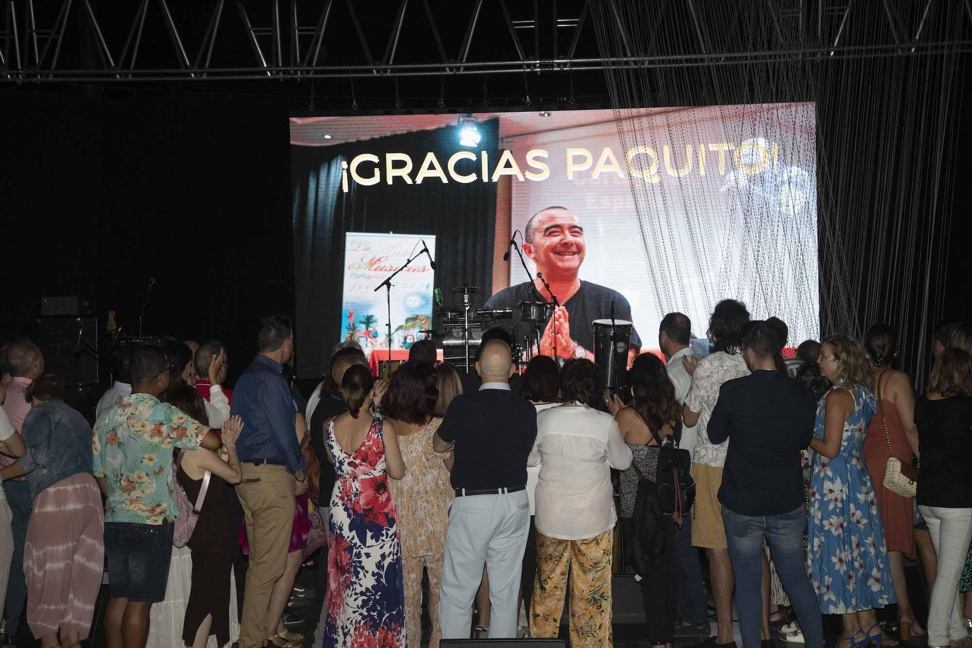 Homenaje a Paquito Martín.