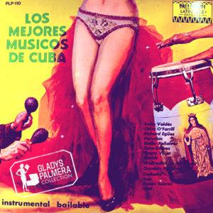 VARIOS Los mejores musicos de Cuba Instrumental bailable_Palladium_LP_wm