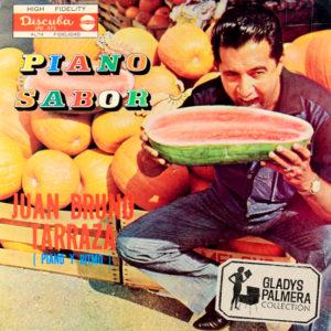Juan Bruno Tarraz-Piano Sabor-Discuba-LPD575