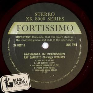 Ray Baretto y su orquesta.Pachanga in Percussion Fortissimo-XK8007-B-0118
