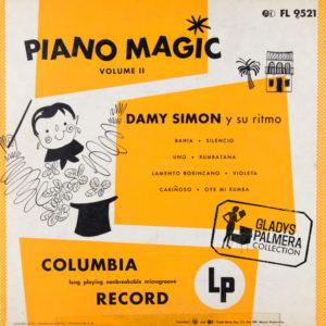 Damy Simón y su ritmo-Piano Magic Vol. 2-Columbia-FL9521