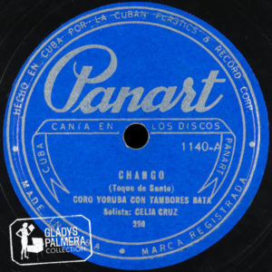Celia Cruz Panart Chango