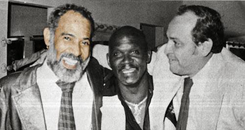 Phidias con Cuco Valoy y Bolivar Navas