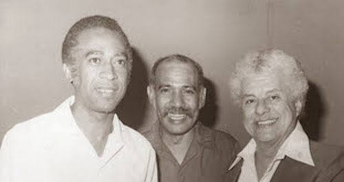 Phidias con Tito Puente y Tata Guerra