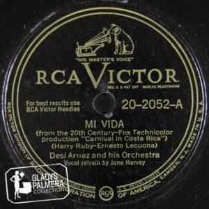 Desi Arnaz and His Orchestra-RcaVictor-2052-A-Mi vida