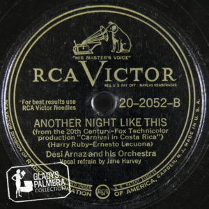 Desi Arnaz and His Orchestra-RcaVictor-2052-B-Another Night Like This
