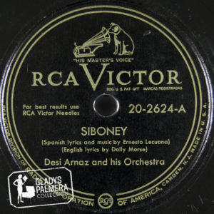Desi Arnaz and His Orchestra-RcaVictor-2624-A-Siboney