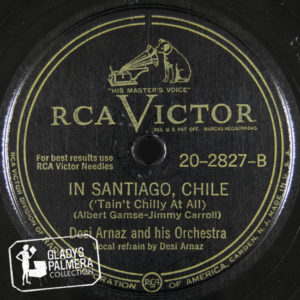 Desi Arnaz and His Orchestra-RcaVictor-2827-B-In Santiago, Chile